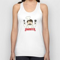 cook Tank Tops featuring Let's Cook! by Lalaine Lim