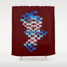 Rib Cage Shower Curtain