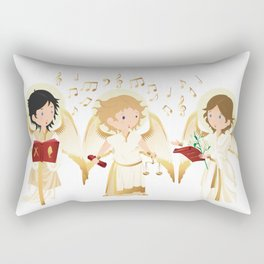 Archangels singing Rectangular Pillow