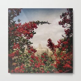 Hazy Assisi Metal Print