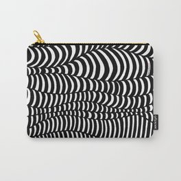 Black and White surreal lines. Inspired by art of Escher Carry-All Pouch