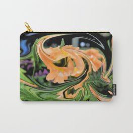 Tangerine Dragon Carry-All Pouch