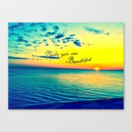 Beautiful You Canvas Print