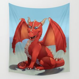 Monster of the Week: Red Dragon Wall Tapestry