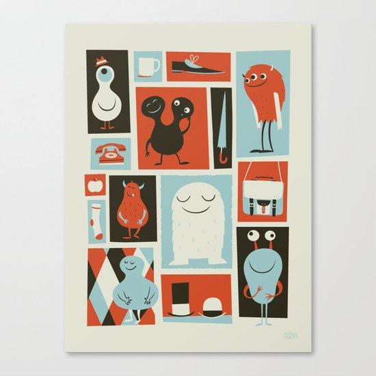 All Set Canvas Print