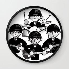 liverpool quartet Wall Clock