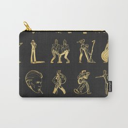 AlphaBowie: The David Bowie Typeface Carry-All Pouch