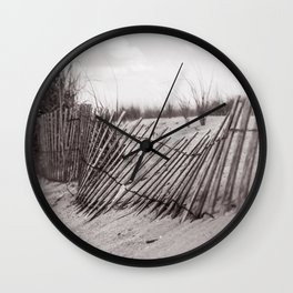 Fences at Redhook Wall Clock
