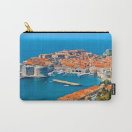 Croatia Harbor Carry-All Pouch