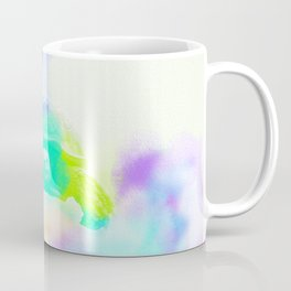 Watercolor Sulcata Tortoise Coffee Mug
