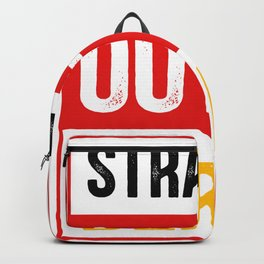 Straight Outta Berlin Capital Backpack