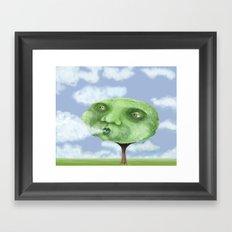 Making Clouds Framed Art Print