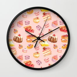 Dessert Wall Clock