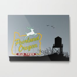 Poorland [Landscape] Metal Print