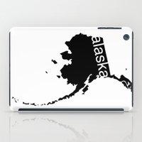 alaska iPad Cases featuring Alaska by Isabel Moreno-Garcia