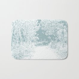 Walk in the Forest Bath Mat