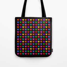 Sweet heart Pattern Tote Bag