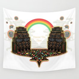 Channel One Soundsystem Vibes Wall Tapestry