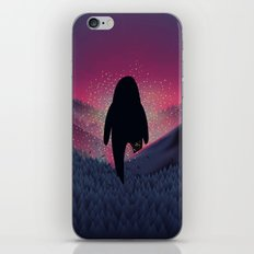 Never Look Back iPhone & iPod Skin