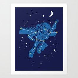 Universal Star Art Print