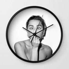 Miley. Wall Clock