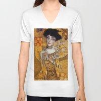 klimt V-neck T-shirts featuring klimt by Antonio Lorente