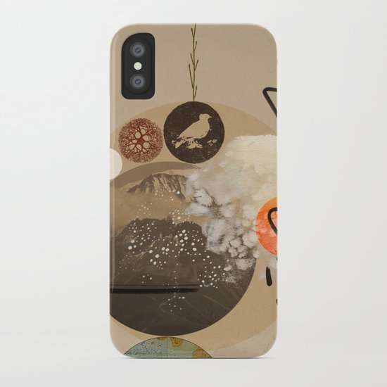 Into nothing iPhone Case