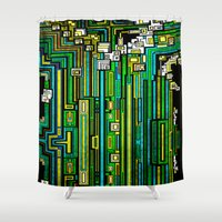 tree of life Shower Curtains featuring Tree Of Life by Steve W Schwartz Art