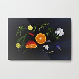 Edible Garden Metal Print