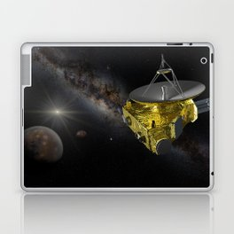 New Horizons approaching Pluto and Charon Laptop & iPad Skin