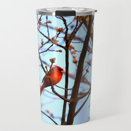 Red Robin Travel Mug