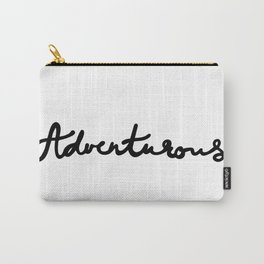 Let's be adventurous Carry-All Pouch