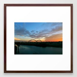 EMBRACE II Framed Art Print