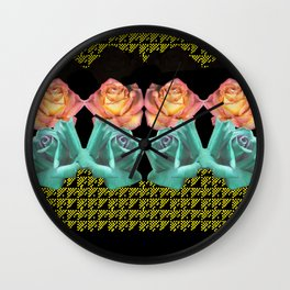 Sweet Rosy Too Wall Clock
