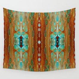 aqua 3 Wall Tapestry