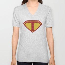 Superteacher | Teacher School Hero Unisex V-Neck