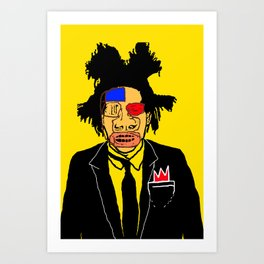 Jean Michelle Basquiat Art Print