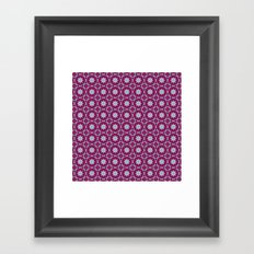 Tie Dyed Framed Art Print
