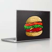 burger Laptop & iPad Skins featuring Burger by YusufSangdes