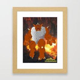 METLAR Framed Art Print