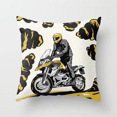 BMW 1200 GS Throw Pillow