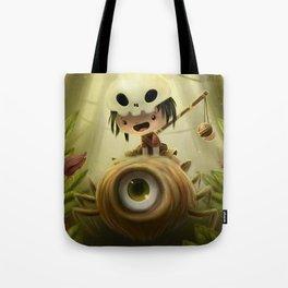 Cyclop Spider Tote Bag