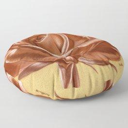 Sanguine Rose Floor Pillow