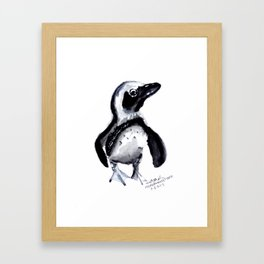 Proud Penguin Framed Art Print