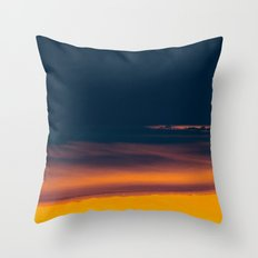 Into The Electric Night Throw Pillow