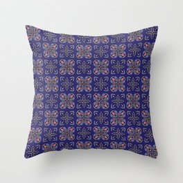 Royal [abstract pattern A] Throw Pillow