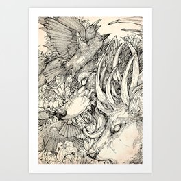 Chaos Divine  Art Print