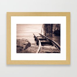To wherever it takes you Framed Art Print