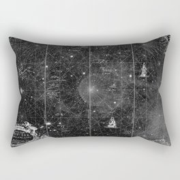 a space map (2) Rectangular Pillow