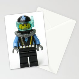 Another SCUBA Minifig Stationery Cards
